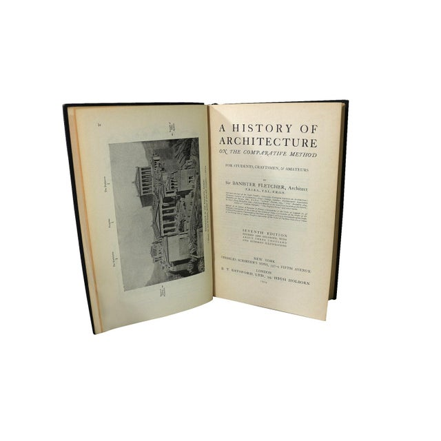 Image of 1920s Banister Fletcher History of Architecture
