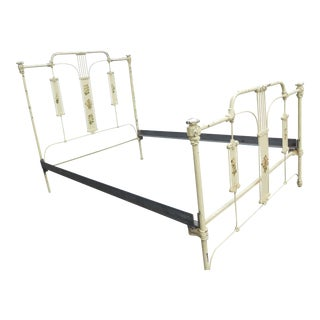 Antique Iron Full Bed