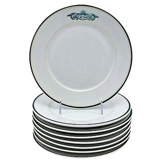 French Limoges Hotel Ware Plates - Set of 8