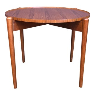 Danish Modern Teak Tray Table