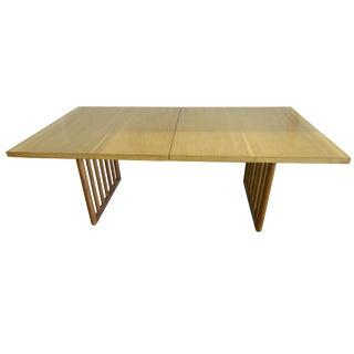 T.H. Robsjohn-Gibbings Mid-Century Mahogany Dining Table