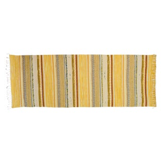 "Swedish Handwoven Rug - 7'1"" X 2'5"""