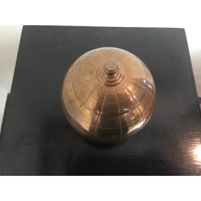 Vintage Brass Globe Cigarette Dispenser - Image 3 of 7