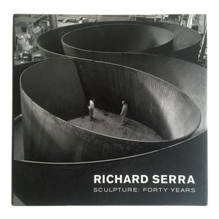 """Richard Serra Sculpture : Forty Years "" Rare Moma Exhibition Hardcover 1st Edtn Book"