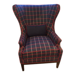 Robert Allen Traditional Wing Chair