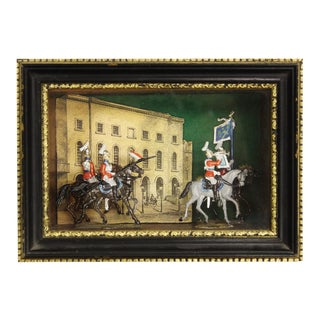 Lead Cavalry Officers Diorama