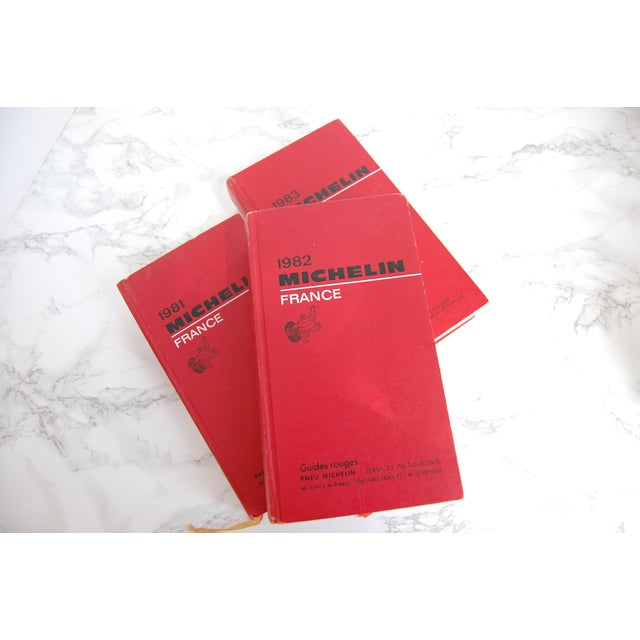 Image of Vintage Michelin France Guide - Set of 3 Books