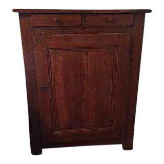 Vintage Rustic Wood Cabinet
