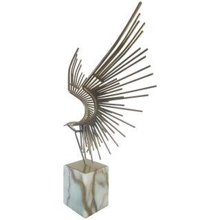 Curtis Jere Brutalist Bird Sculpture