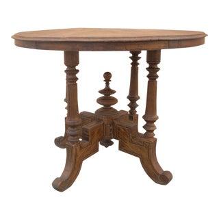 Primitive Eastlake Victorian Table
