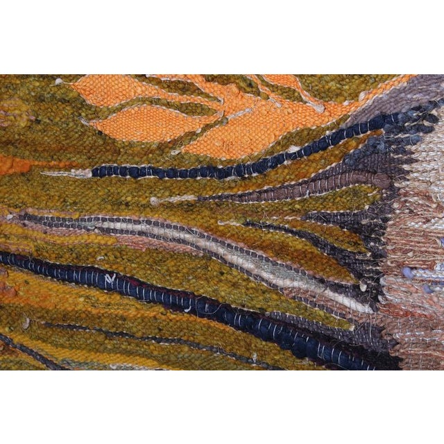 """Large Tapestry by Krystyna Wojtyna-Drouet Titled """"Fruit"""" - Image 7 of 10"""