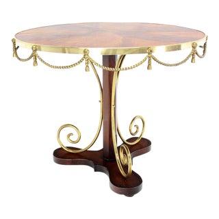 Bronze Ormolu, Neoclassical Gueridon Center Table
