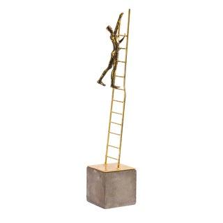 """Ladder to the Stars"" Metal Art Sculpture"