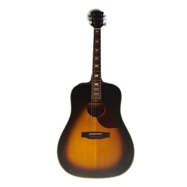 Vintage 1960s Gibson Acoustic Guitar - Image 1 of 10