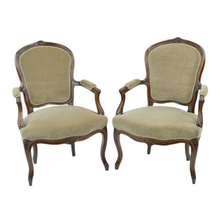 19th Century French Chairs - A Pair