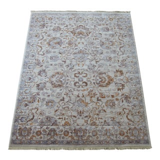 Oriental Transitional Pattern Rug - 5′3″ × 7′7″