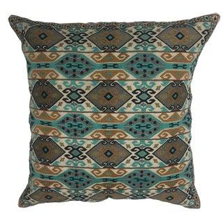 Finn Daring Embroidered Pillow