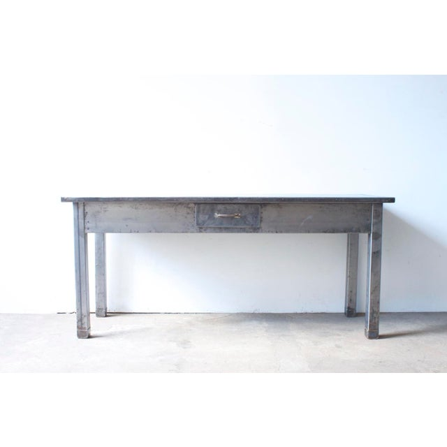Image of Industrial Metal Table