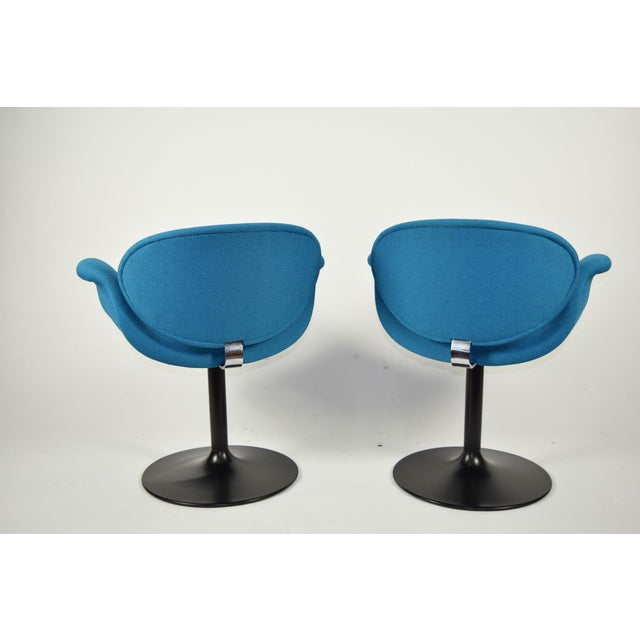 Pair of Little Tulip Chairs by Pierre Paulin for Artifort - Image 4 of 10