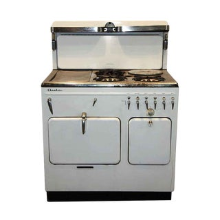 Antique White Chambers Stove