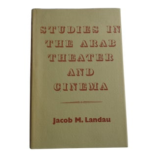 """""""Studies in the Arab Theater and Cinema"""" Vintage Book"""