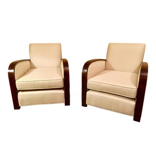French Art Deco Club Chairs