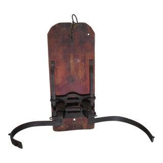 Antique Mechanical Grain Sack Opener