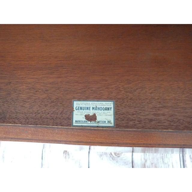Vintage Georgian 8-Drawer Mahogany Dresser - Image 8 of 8