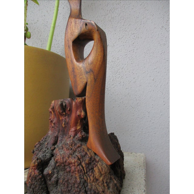 Abstract Organic Graceful Woman Sculpture - Image 3 of 11