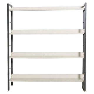 Tomado Industrial Enameled Metal Bookcase