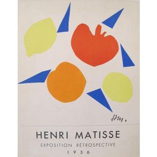 1956 Henri Matisse Exposition Retrospective