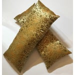 Image of Chinese Silk Pillows - A Pair