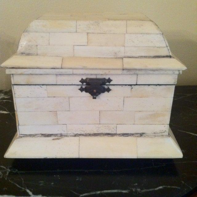 Bone Inlay Box - Image 2 of 4