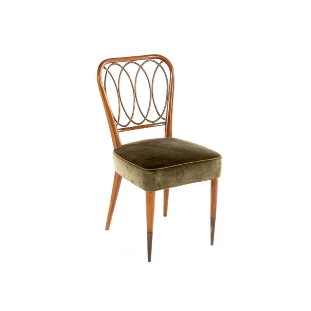 Gio Ponti Dining Chairs - Set of 4 - Image 3 of 5
