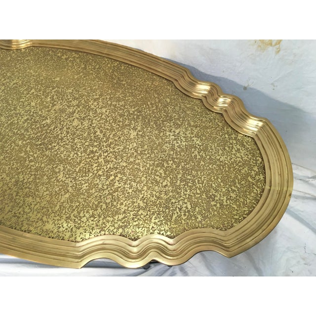 Baker Furniture Brass Tray Table - Image 7 of 10