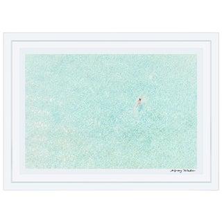 """Framed """"Girl in Pink, Bora Bora"""" Print"""