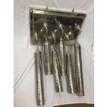 Image of Moroccan Multi-Pendant Pierced Metal Chandelier