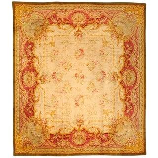 Antique European Savonnerie Carpet