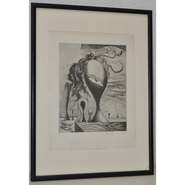 Image of Surrealist Etching by Kurt Seligmann