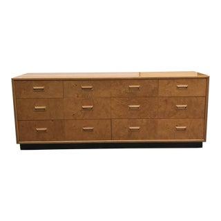 1970s Henredon Scene Two Olive Burlwood Dresser
