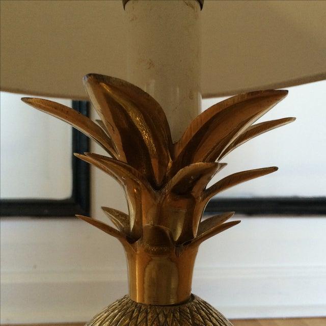 Brass Pineapple Lamp - Image 6 of 7