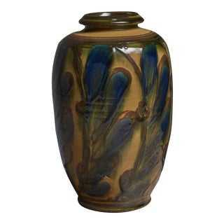 Herman August Kähler Ceramic Vase, Denmark
