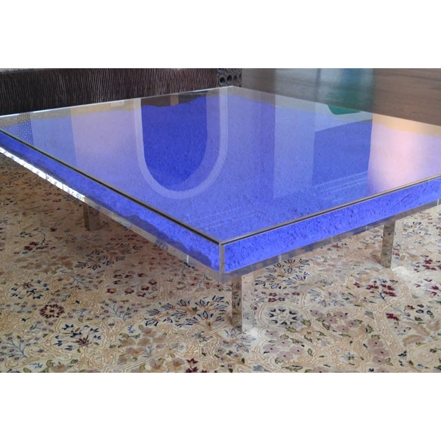 Yves Klein Table Bleu Style Coffee Table Chairish