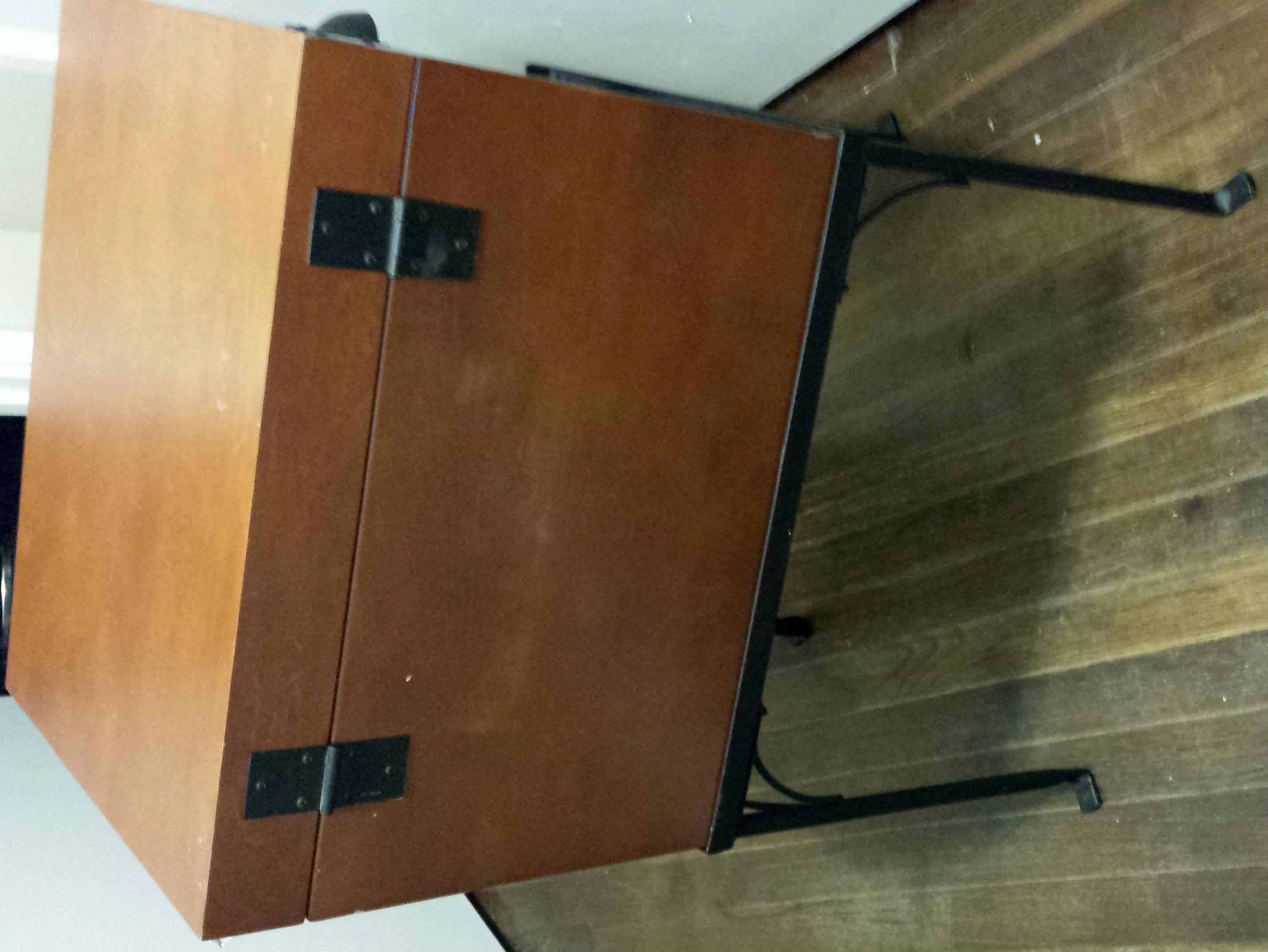File cabinet frame