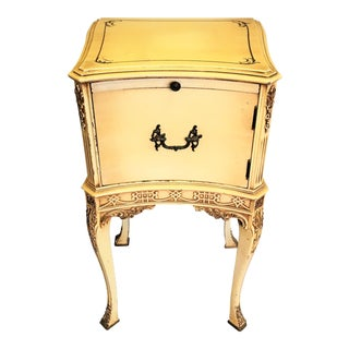 Chinese Chippendale Chairside Cabinet