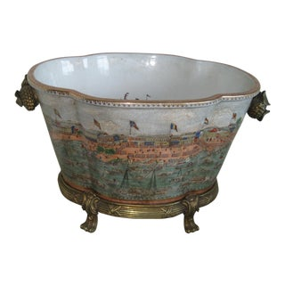 Bronze Mounted Decorative Jardiniere
