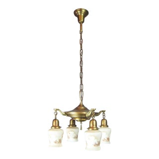 "Original ""Windmill"" Shade Pan Light Fixture (4-Light)"