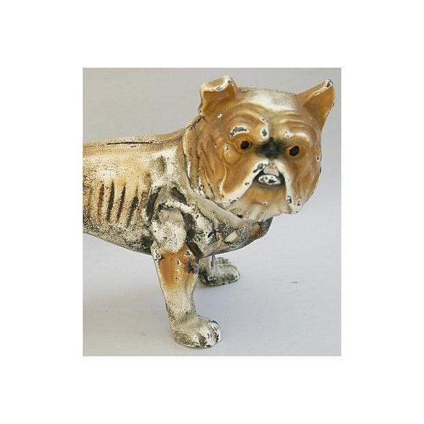 Cast Iron Bull Dog Bank/Door Stop - Image 8 of 8