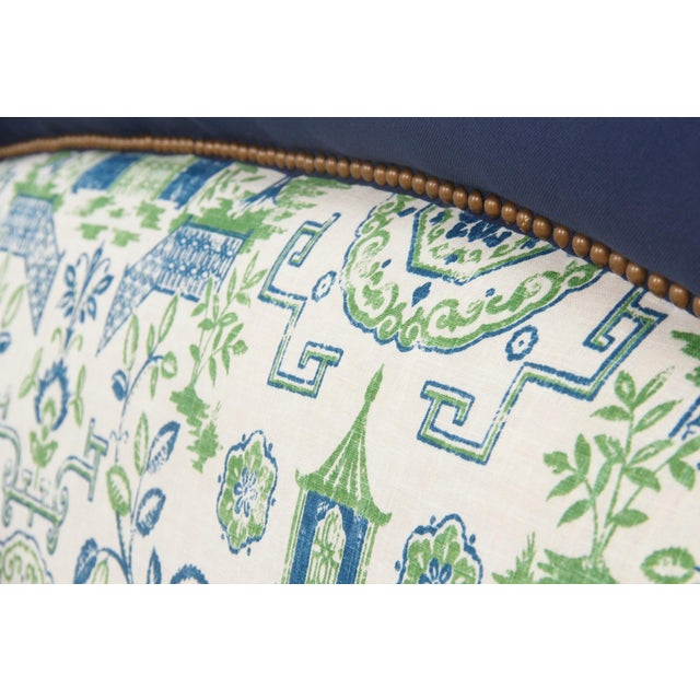 King Size Chinoiserie Style Headboard - Image 4 of 4