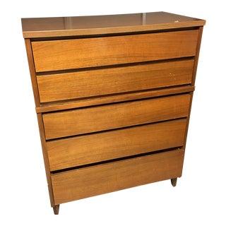Stanley Mid-Century Modern 5-Drawer Dresser